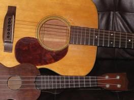 1936 000-18 and Style 1 ukulele